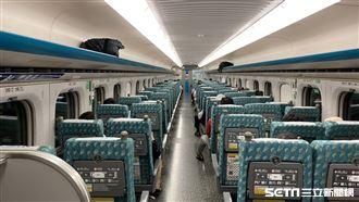 高鐵今晚加開1班車 5自由座站站停