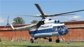 失事的俄國國防部Mi-8直升機墜毀在楚科加地區主要機場。(示意圖/翻攝自維基百科)