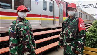 印尼動員數十萬軍警 為解封做準備