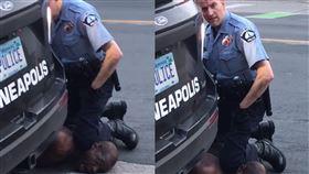 我不能呼吸!黑人遭警「膝壓脖」亡 美國,種族歧視,執法不當,壓制,窒息,黑人,George Floyd 翻攝自臉書 Darnella Frazier