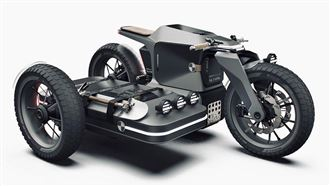 自備行動電源 BMW三輪越野車