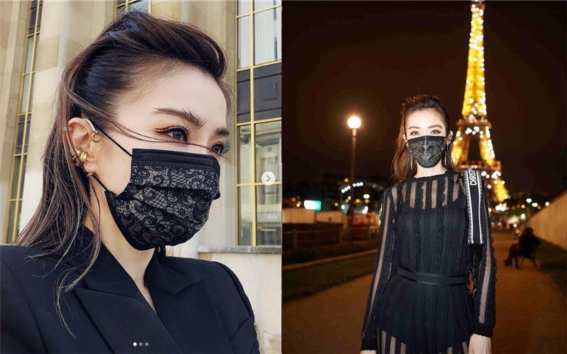 謝金燕「質感黑」口罩6/1解禁發售