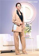 昆凌出席自創隱眼品牌QUINLIVAN。(記者邱榮吉/攝影)