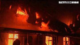 新屋保齡球館大火