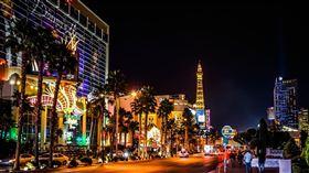賭城,拉斯維加斯。(圖/pixabay)