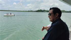 前總統馬英九參訪烏山頭水庫(圖/馬辦提供)