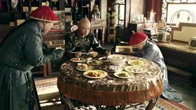 清朝皇帝用膳圖