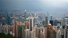 香港,金融中心,科技,高樓大廈 圖翻攝自pixabay