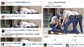 香港爆大量「台灣黑警假消息」!沈伯洋驚爆:只是冰山一角(圖/翻攝自沈伯洋臉書)