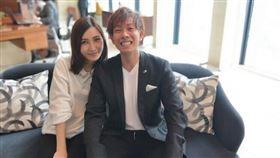 清水健和美女伊藤春香閃婚,去年9月兒子順利誕生。(圖/翻攝自清水健IG)