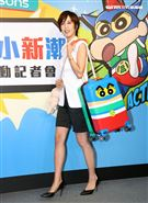 陳庭妮、胡宇威緋聞傳7年,至今仍堅稱「就還是好朋友」。(記者邱榮吉/攝影)