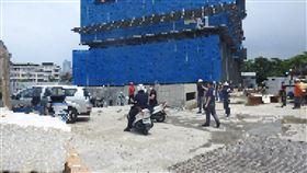 新北市,板橋,工地,屍體,墜落,清潔工