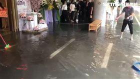 中央氣象局,台北,淹水,第二殯儀館,辦喪事,二殯