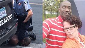 你們在毀滅他!死者女友籲停止暴動 美國,種族歧視,執法不當,壓制,窒息,黑人,George Floyd,女友 翻攝自臉書