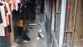 廣東深圳,墜樓,空調工,裝設,工安意外(梨視頻)