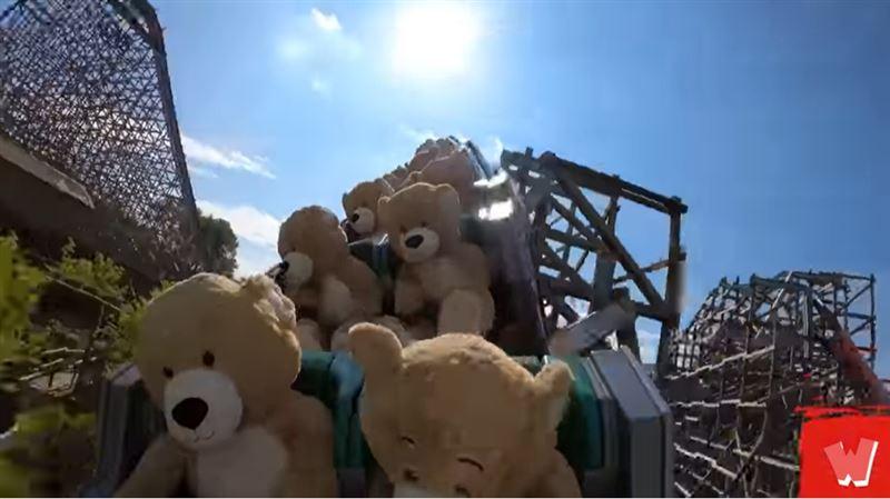 看過泰迪熊搭雲霄飛車?超Q畫面曝光