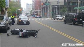 車禍、事故示意圖/翻攝畫面