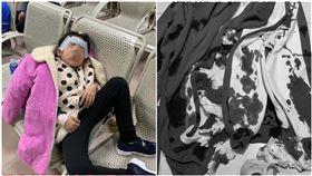 6歲氣喘童被罰跑10圈操場…當場吐血 染紅運動服(圖/翻攝自微博)