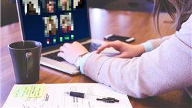 視訊、遠端上課、開會(示意圖/翻攝自Pixabay)