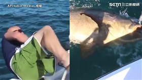 男子釣魚連人帶竿意外落海 下秒拉起驚見巨大石斑