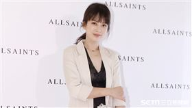 Melody出席AllSaints開幕活動。(圖/記者林聖凱攝影)