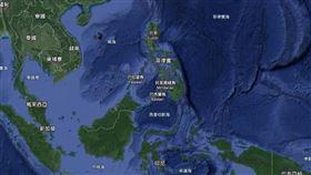 印尼向聯合國駁中國南海主權(圖/Google地圖)