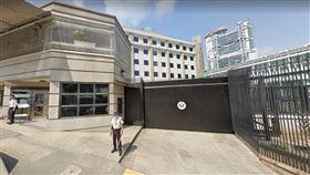 美國港澳總領事館(圖/翻攝自Google地圖)