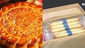 傳統中式大餅,西式小餅乾。(圖/翻攝自臉書、資料照)