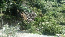 宜蘭,太平山,溫泉區,坍方(圖/翻攝畫面)