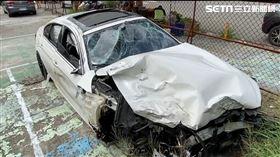 攔查畫面曝!BMW男酒駕躲警 踩油門狂飆…快到瞬間消失(圖/翻攝畫面)