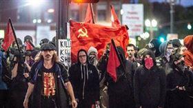 (圖/翻攝自微博)共產黨,美國,暴動