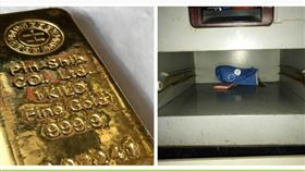 金條,鐵櫃,黃金(圖/翻攝畫面)