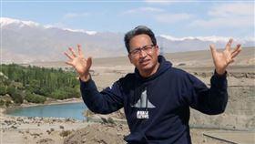 旺楚克(Sonam Wangchuk)呼籲抵制中國製產品(圖/翻攝自Youtube)