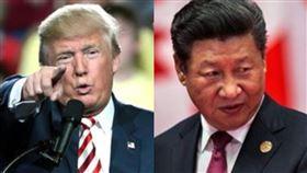美國總統川普、中華人民共和國國家主席習近平(組合圖/資料照)