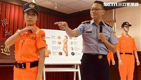 海巡,勤務服,進化,台北,記者陳啓明攝