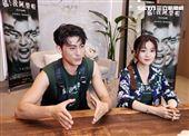 電影「媽我阿榮啦」演員楊小黎、徐愷三立新聞網專訪。(記者邱榮吉/攝影)