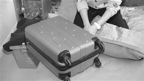 行李箱;藏屍(示意圖/資料照)