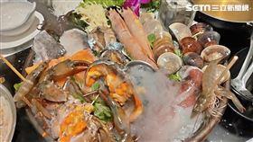 海鮮、火鍋(圖/記者李鴻典攝)