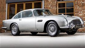 ▲007電影複製版DB5 Goldfinger Continuation。(圖/翻攝Aston Martin網站)