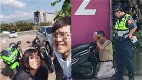 新北,板橋,重機,車禍,水泥車,違規左轉,冥婚(圖/翻攝畫面、IG)