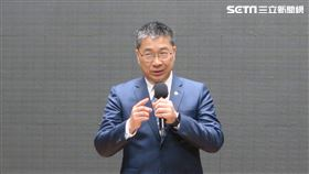 內政部長徐國勇。(圖/記者盧素梅攝)