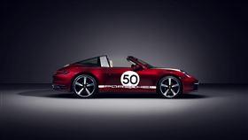 ▲保時捷911 Targa 4S Heritage Design Edition。(圖/Porsche提供)