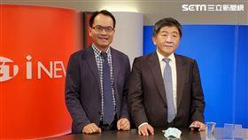 陳時中部長接受政論節目《鄭知道了》主持人鄭弘儀專訪。