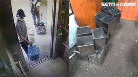 台鐵,區間車,廁所,垃圾桶,竊案