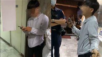 因為韓國瑜?小情侶「肉搏」吵到報警
