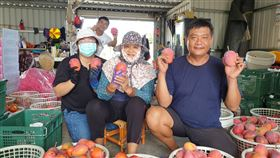更生人潘明德獲家人支持  投入芒果產銷曾因製造毒品入獄8年的潘明德(右),出獄後承接祖父的芒果園,精進技術,遠離過往的荒唐,也獲得媽媽和妹妹的支持,全家一起投入芒果的種植和產銷。(農糧署提供)中央社記者郭芷瑄傳真  109年6月4日