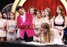 徐乃麟首度找兒子女友合作節目,金髮碧眼俄羅斯人特別顯眼。(圖/記者林聖凱攝影)