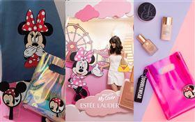 雅詩蘭黛打造迪士尼「My Cover玩色奇幻世界」快閃店。(圖/雅詩蘭黛提供)