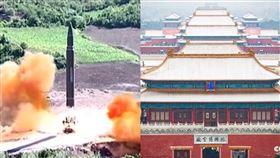 核彈發射,北京(示意圖資料照片)
