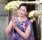 陳亞蘭榮獲國立師範大學「傑出學生」獎。(記者邱榮吉/攝影)
